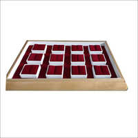 Ring Display Wooden Boxes