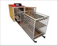 Hot Air Oven With Trolley