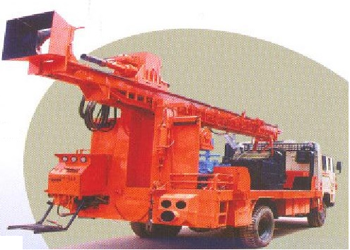 TRUCK MOUNTED ROTARY CUM DTH & CORE DRILLING RIG RCCD-150-1000