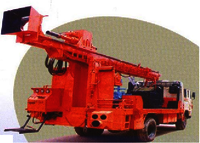 Truck (6X4) Mounted Drilling Rig