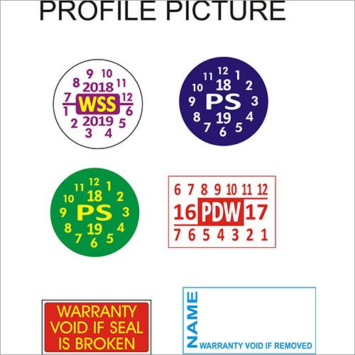 Warranty Seal Stickers