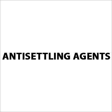 Antisettling Agents