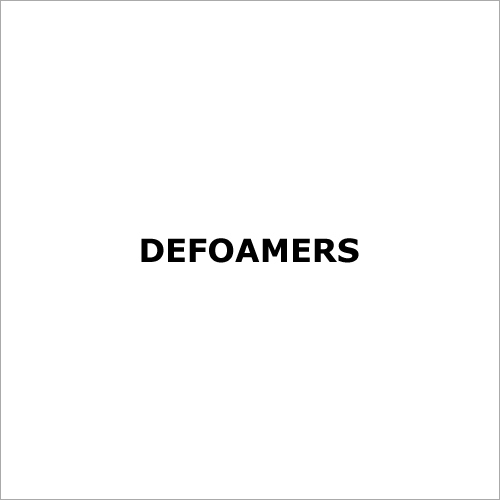 Defoamers