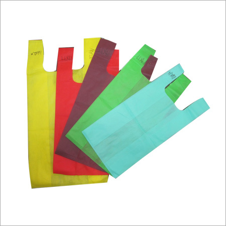 U Cut Non Woven Colored Bag