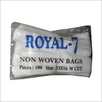 W Cut Non Woven Plain Bag