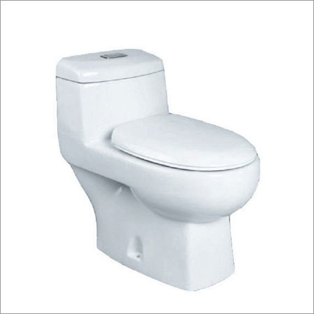Plain One Piece Water Closet