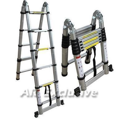 Aluminium Folding Double Side Ladder