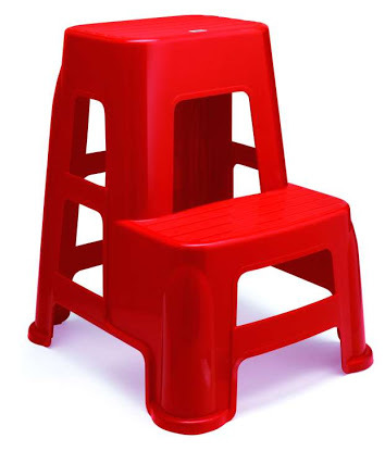 Plastic Kitchen Step Ladder