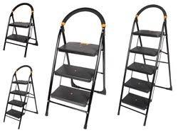 Wide Steps Heavy Folding Ladder