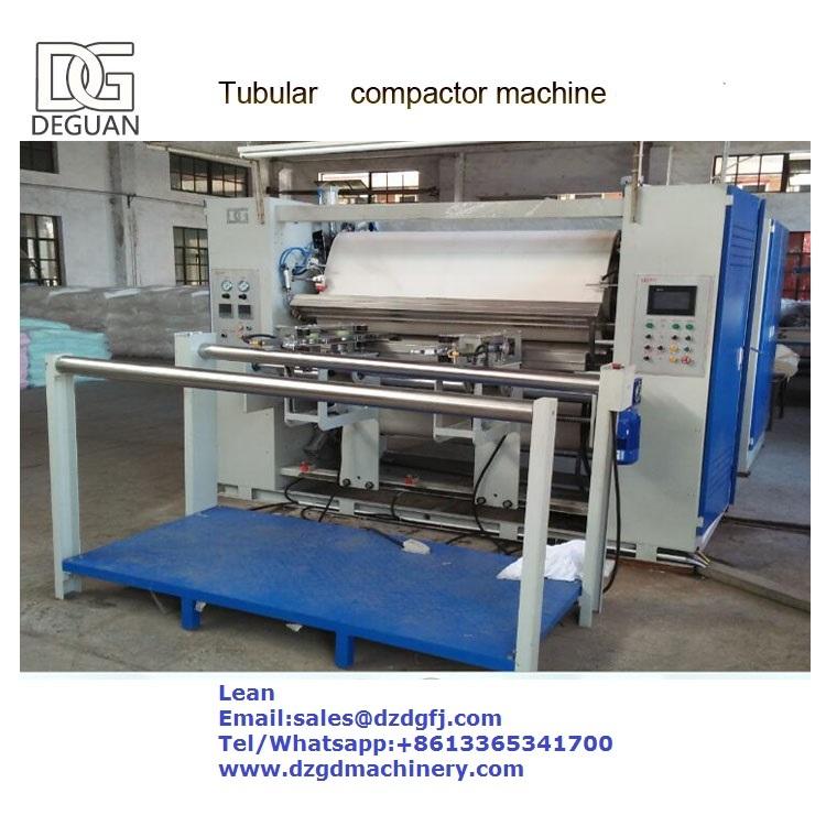 Knit Tubular Compactor Machine for Textile Finishing