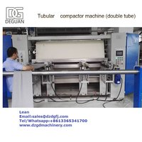 Knit Tubular Compactor Machine for Textile Finishing