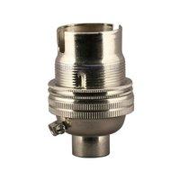 B22 Nickel Plated Bulb Holder