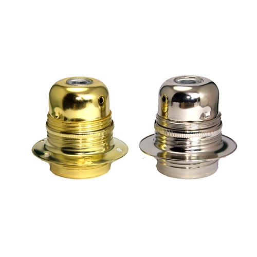 E27 Nickel Bulb Holder