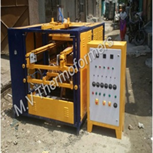 Automatic Dona Plate thali Glass Forming Machine
