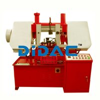 Double Column Semi Automatic Horizontal Bandsaw Machine