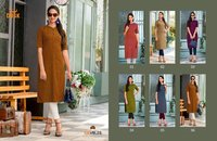 Ladies Designer Cotton Kurti shoping
