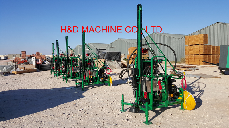 HD-40D Man Portable Drilling Rig