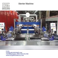 Thermal Oil Heating Textile Finishing Stenter Machine
