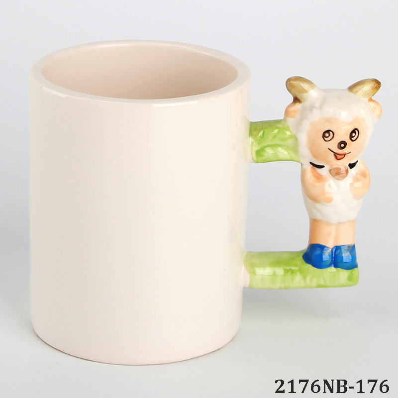 ANIMAL HANDLE MUGS