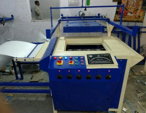 Mini Automatic Thermocol Dona/Plate/Thali Forming Machine