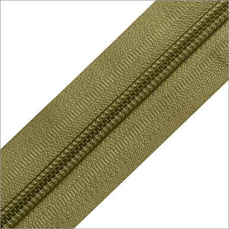 Green Nylon Zipper