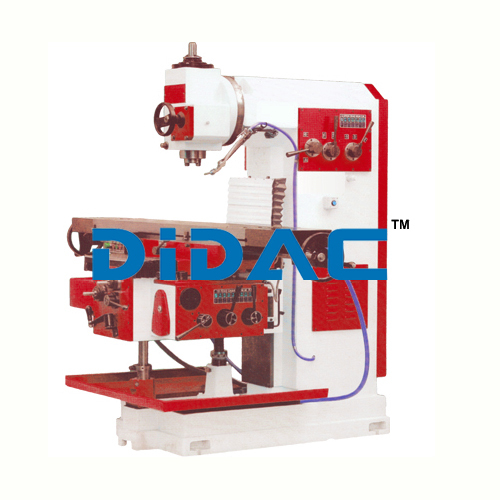 All Geared Vertical Milling Machine