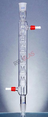 03.397 Allihn Condensers, (Bulb Condenser)