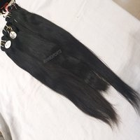 Wholesale Straight 100% Indian Temple Hair Virgin Unprocessed Raw Indian Hair