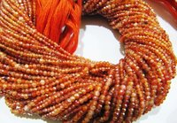 AAA Quality Mystic Coated Carnelian Beads