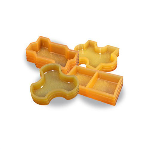 Colored Rubber Paver Mould