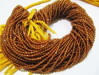 AAA Quality Hessonite Garnet Beads