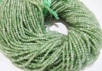AAA Quality Natural Green Rutilated Beads