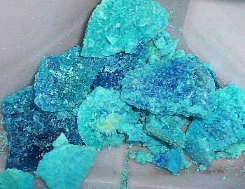 Coppper Sulphate Crystal