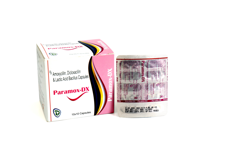 Amoxicillin, Dicloxacillin Tablets