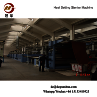 Fabric Textile Stenter Heat Setting Machine