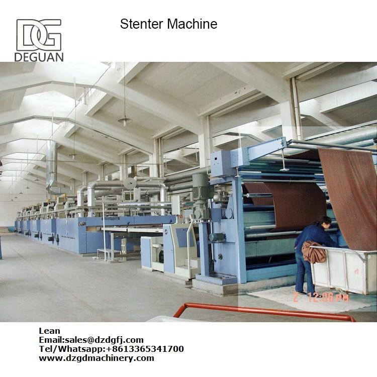 Fabric Textile Stenter Heat Setting Machine