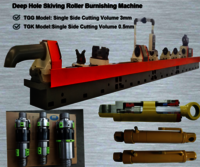 Skiving Roller Burnishing Machine for Cylinder tube