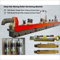 Skiving Roller Burnishing Machine for Cylinder tube