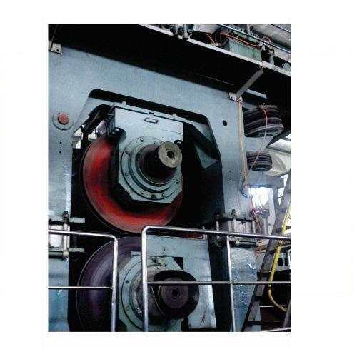Jumbo Press At Paper Machine