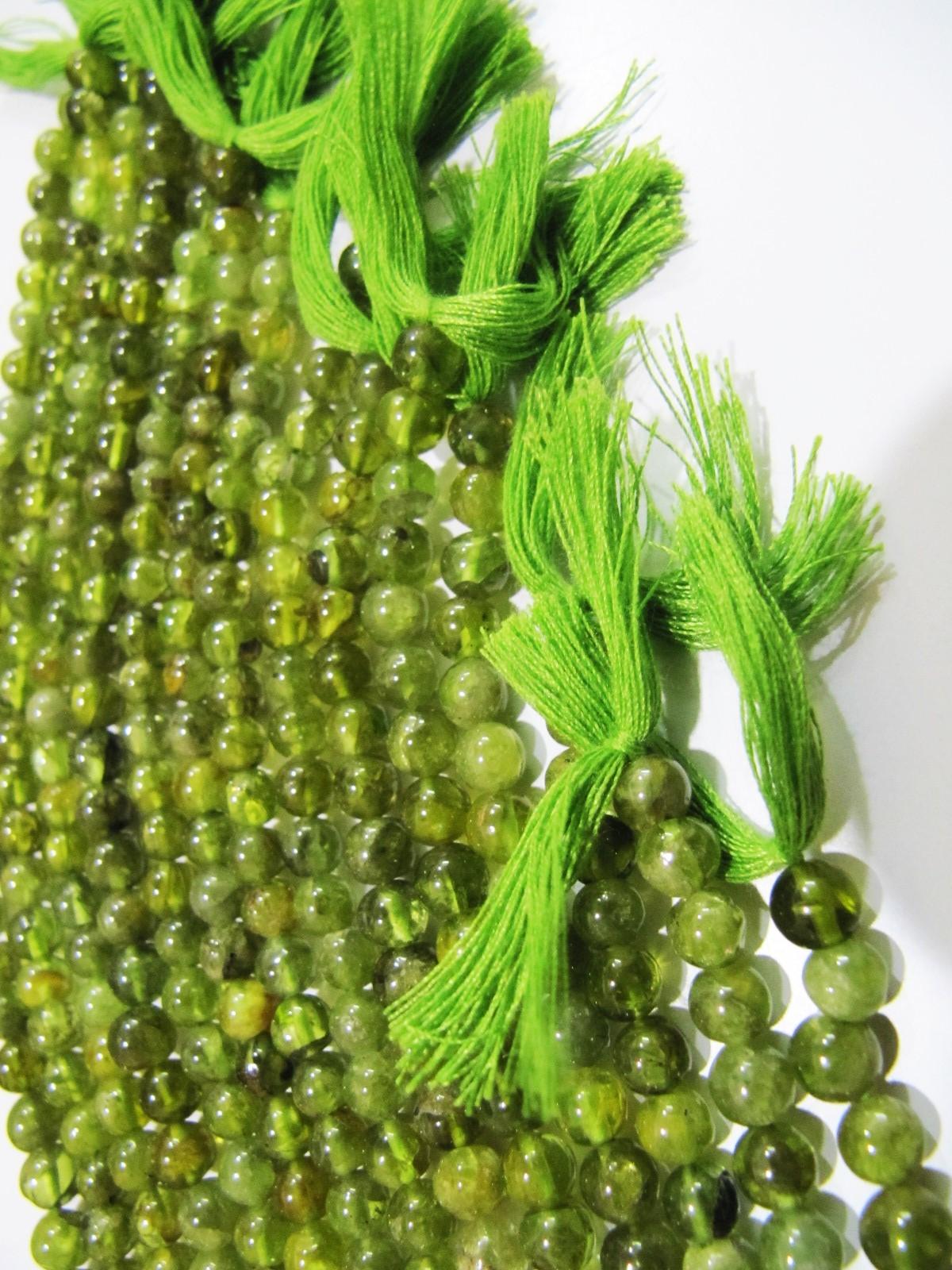 Natural Genuine Aventurine Round Plain Smooth Beads