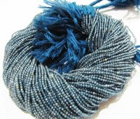 AAA Quality Natural Kyanite Gemstone Rondelle  Beads