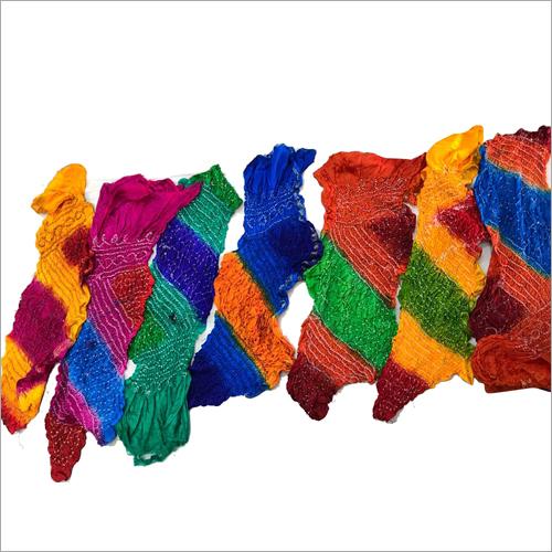 Silk Bandhej Dupata
