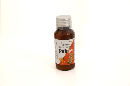 Accelofence & Paracetamol Oral Suspension
