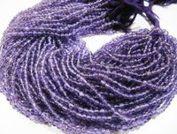 Natural Genuine Amethyst Beads Round Plain Beads
