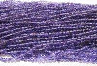Natural Genuine Amethyst Beads Round Plain Beads