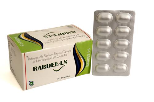 Rabeprazole Sodium Enteric Coated & Levosulpiride SR Capsules