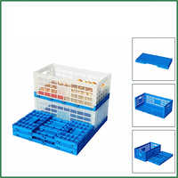 240 Eggs Plastic Folding Turnover Crate