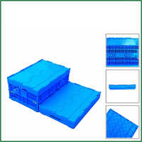 Eco-Friendly Recyclable Electronic Product Foldable Crate