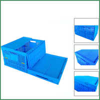 Collapsible Plastic Vegetable Crates