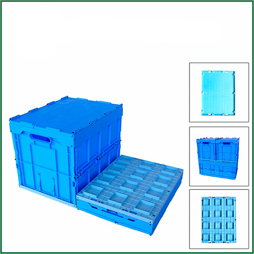 Nestable Foldable Plastic Storage Box